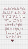 Back-stitch Alphabet