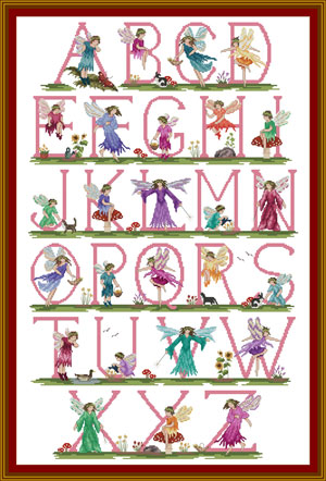 Alphabet of Fairies
