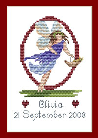 O fairy Cross-stitch